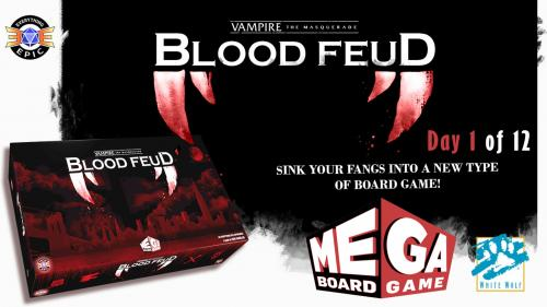 Vampire: the Masquerade - Blood Feud a Mega Board Game