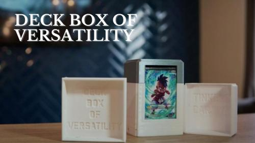 The Deck Box of Versatility: a TCG Solution