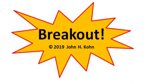 Breakout! - a (PnP) board game of reaching to the other side
