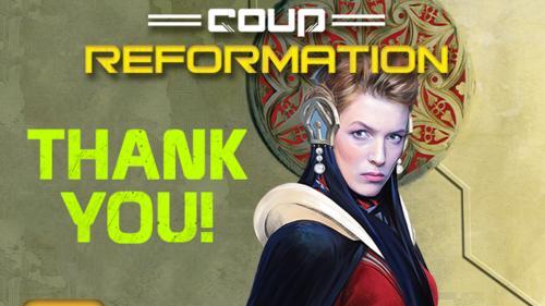 Coup Reformation - Kickstarter Edition
