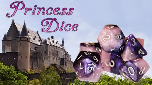 Royalty Halfsies Dice - For the Rich and Famous
