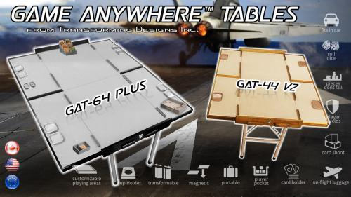 Game Anywhere™ Table GAT-64 Plus Portable Gaming Table