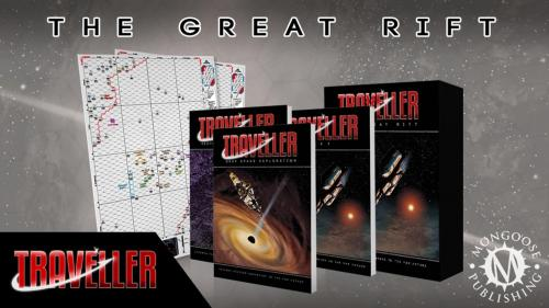 Traveller RPG: The Great Rift & Deep Space Exploration