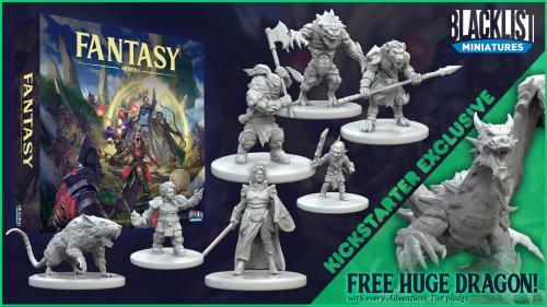 Blacklist Miniatures: Fantasy Series 1