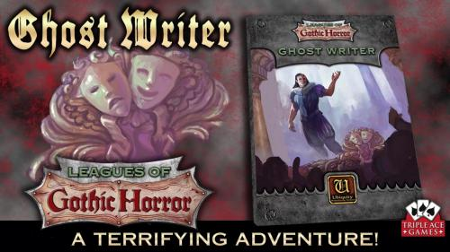 Ghost Writer - a Gothic Horror adventure!