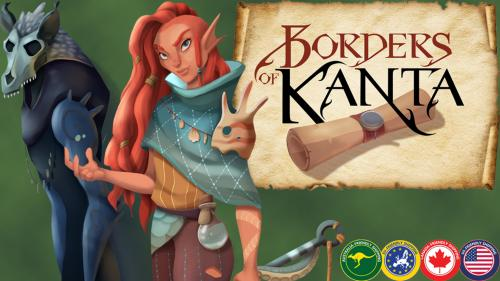 Borders of Kanta: A tile laying game for 2-6 players