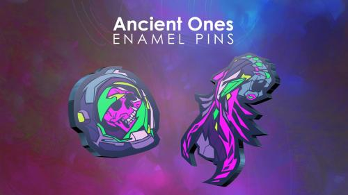 Ancient Ones Collection Enamel Pins