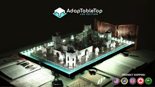 AdapTableTop LED EDITION a modular tabletop for board gamers