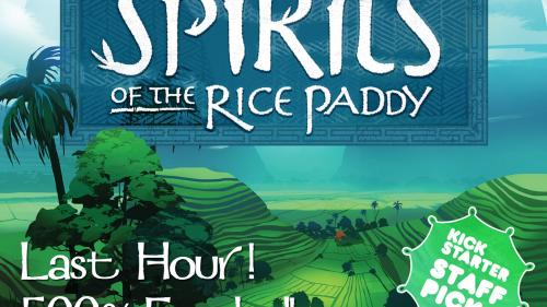 Spirits of the Rice Paddy Board Game
