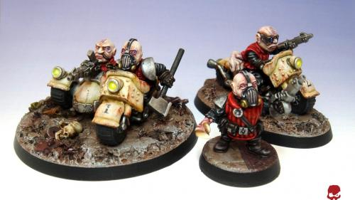 Space Dwarf Bikers 28mm Sci-Fi Miniatures