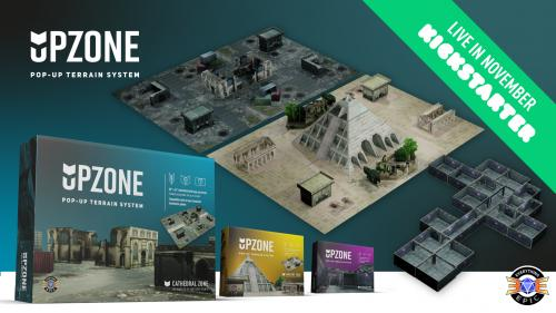 Upzone - The Pop Up Wargaming & RPG Terrain System