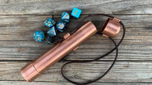 Dice Vaults and Treasure Coins: Tabletop RPG Accessories