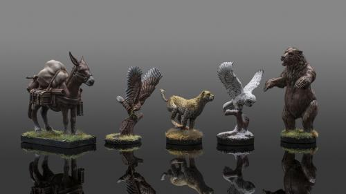 Animal Companion Miniatures by Critit