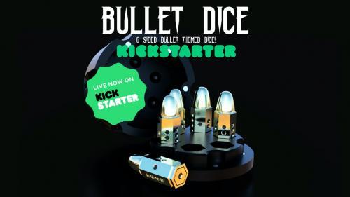 Metal Bullet Dice! D6 set