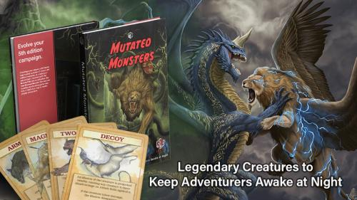 Mutated Monsters: Evolve your 5th edition campaign
