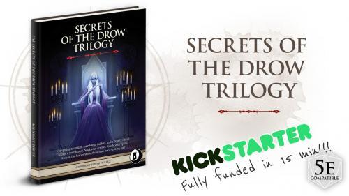 Secrets of the Drow Trilogy (5e)