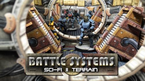 Battle Systems™ Sci-fi II Terrain