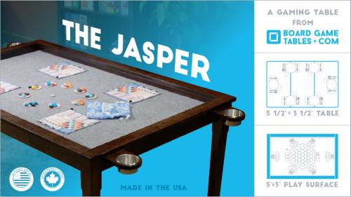 The Jasper: A Board Gaming Table