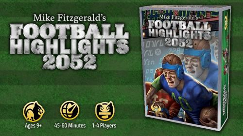 Football Highlights 2052 – Mike Fitzgerald's New Card Game!