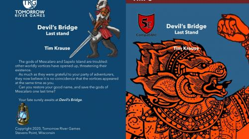 Devil s Bridge: Dungeons and Dragons (D&D 5E Compatible)