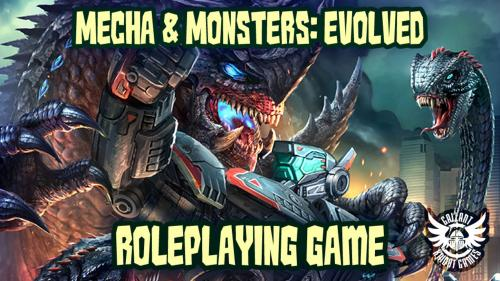 Mecha & Monsters: Evolved - A TinyD6 RPG