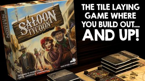 Saloon Tycoon - The tile game that builds out & UP!