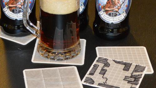 Geomorphic Beermats