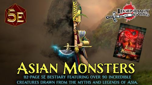 Asian Monsters: 90+ magnificent monsters for DnD 5E!