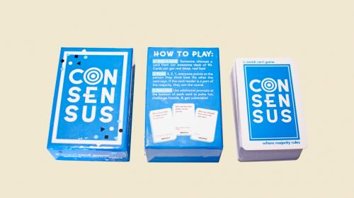 Consensus: The social card game where majority rules!
