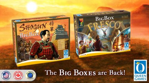 Shogun Big Box and Fresco Big Box