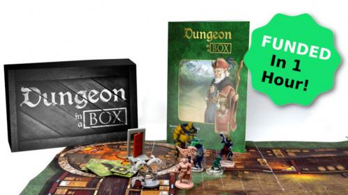 Dungeon in a Box - Your Monthly Dungeon Crawl, In a Box