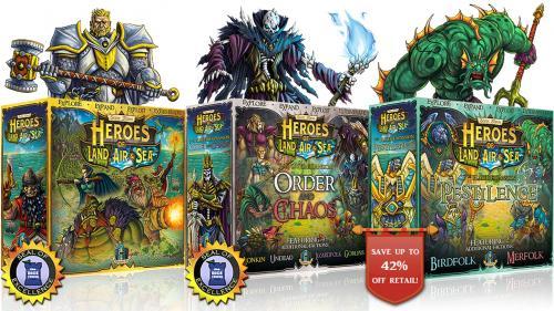Heroes of Land, Air & Sea: Pestilence + HLAS 2nd Printing