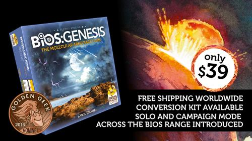 Bios Genesis 2nd edition. Begin, evolve, conquer!
