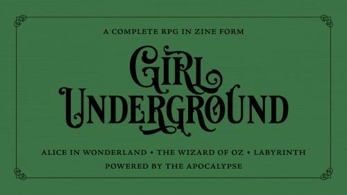 Girl Underground — Zine Quest