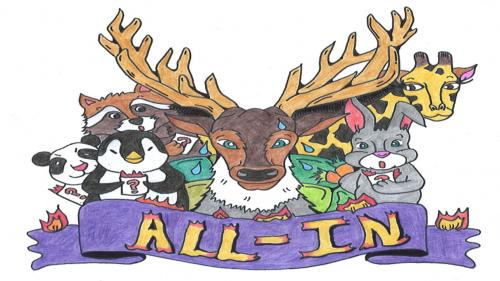 ALL-IN: The Animal Powered Card Game of Honesty and Truth.