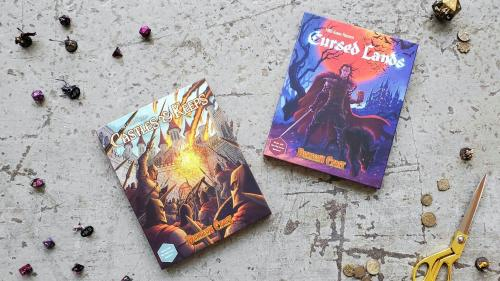 New Dungeon Craft Series! Two New Terrain books for D&D