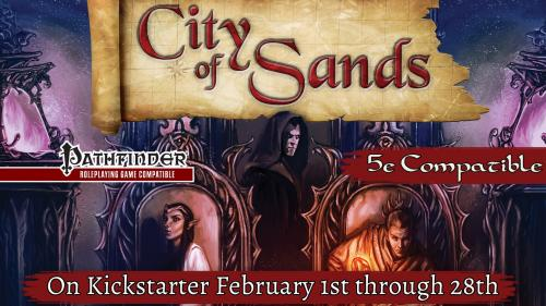 The City of Sands for 5th Edition and Pathfinder!