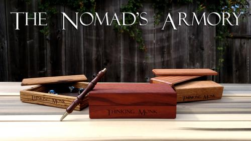 The Nomad s Armory - A Dice Box and Tray for Adventurers