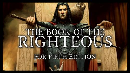 Book of the Righteous for Fifth Edition