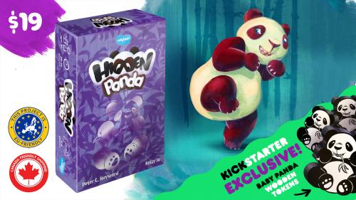 Hidden Panda - the world s cutest social deduction game