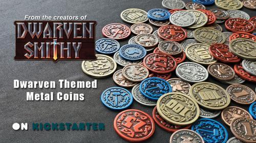 Metal Dwarven Coins - Dwarven Smithy