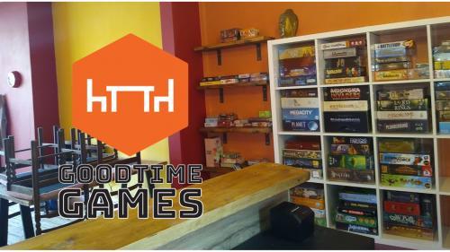 Goodtime Games - A Board Games Café in Manchester, UK