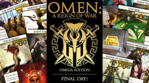 OMEN: A Reign of War. Omega Edition Deluxe.
