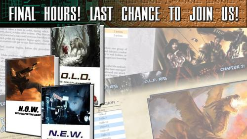 What s O.L.D. Is N.E.W. - Two Crunchy Roleplaying Games!