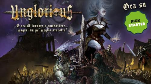 Unglorious, il GdR Necro-Fantasy