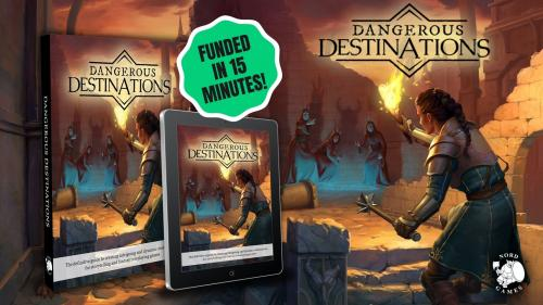Dangerous Destinations Hardcover or PDF for any Fantasy RPG!