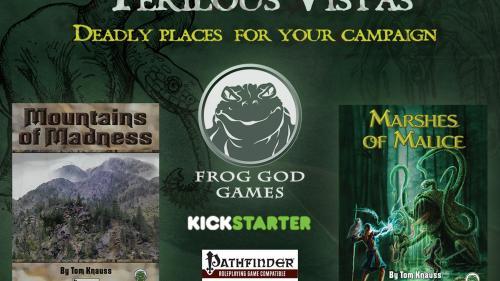 Perilous Vistas: Two New Environment Books for Pathfinder