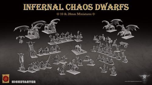 Infernal Chaos Dwarfs & Hobgoblins Miniatures