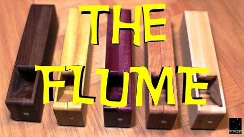 The FLUME - Dice Tower - Dice Case - Hardwood RNG Solution