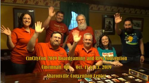 CinCityCon 2019 Boardgame and RPG Convention